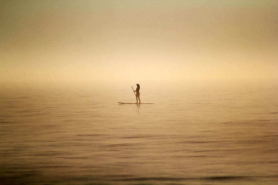 Paddleboard Heaven At Sunrise