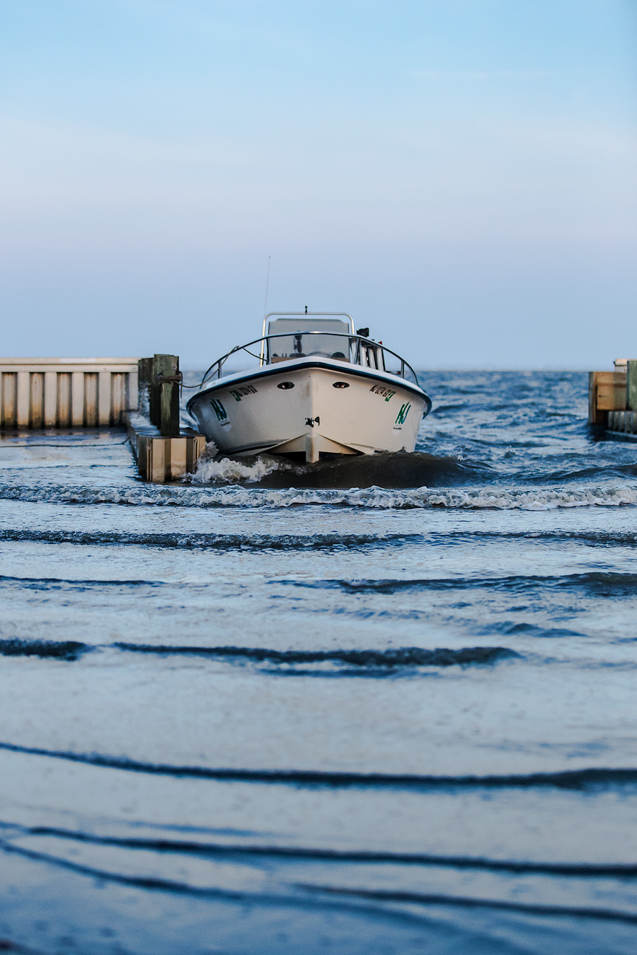 Barnegat Bay has been plagued by brutal Southwest Winds for several weeks, interrupted only by Hurricane Arthur
