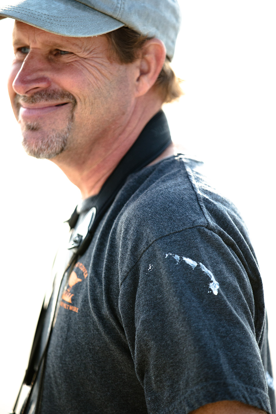 Poop shirt. That's the thanks Todd gets when he checks on the eggs of New Jersey's largest colony of Black Skimmers.