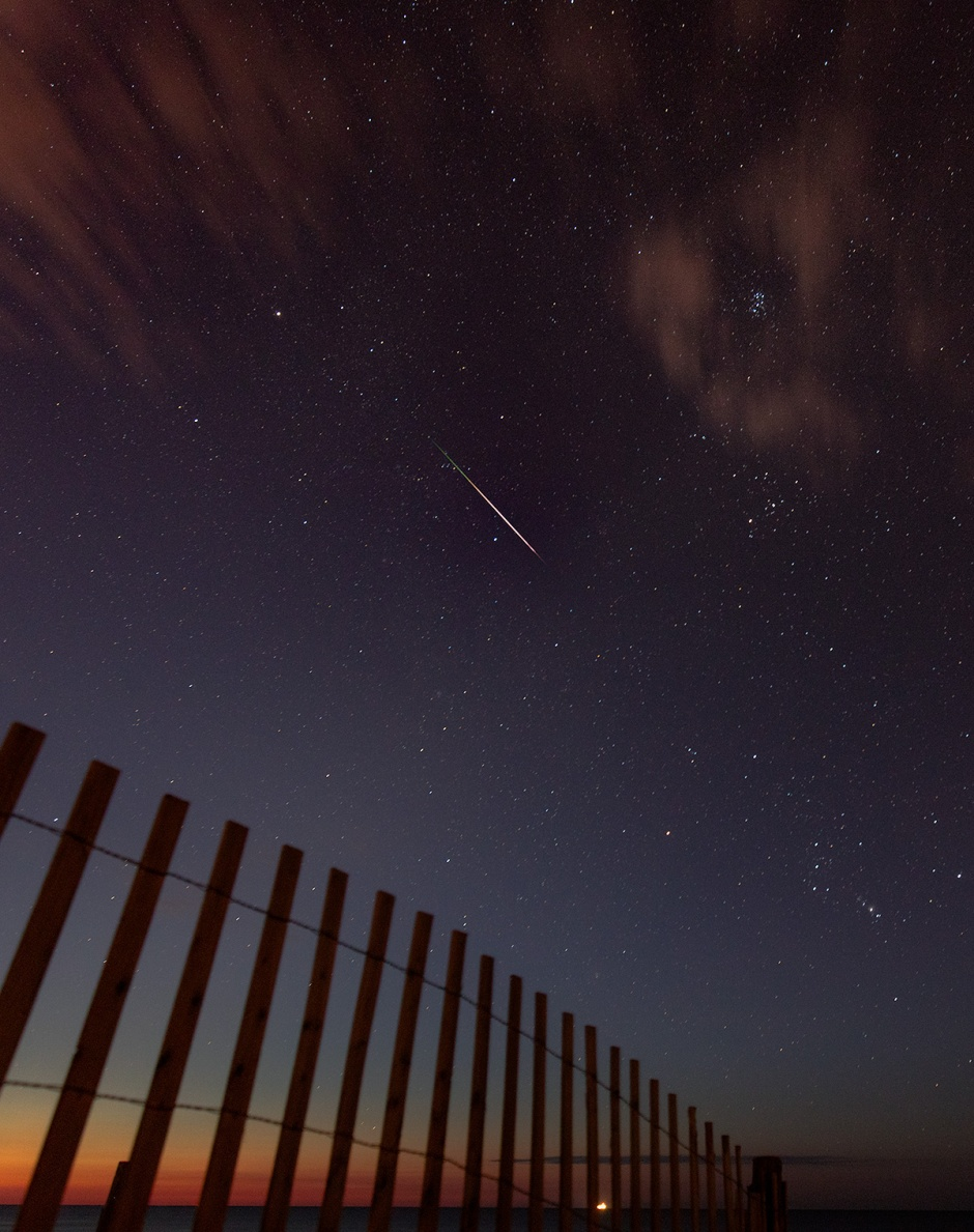 Perseid Meteor Shower: LBI, August 12th.